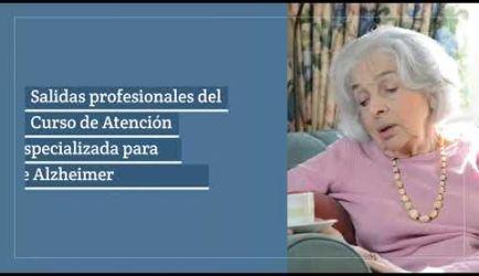 ¿Buscas saber dónde puedes conseguir un puesto de trabajo y cuál es el salario que ganarás al obtener el título del Curso de Atención Especializada para Enfermos de Alzheimer a Distancia? Aquí encontrarás la información